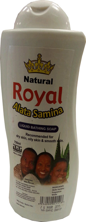 Natural Royal Alata Samina Liquid Bathing Soap 750ml