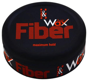 Hairwax - Black and Red Fiber Maximum Hold 150 ml