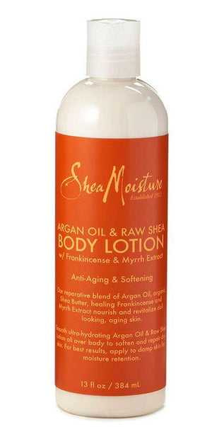 Shea Moisture Argan Oil and Raw Shea Body Lotion 384 ml