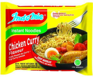 Indomie Instant Noodles Chicken Curry Flavour 70 g x 40