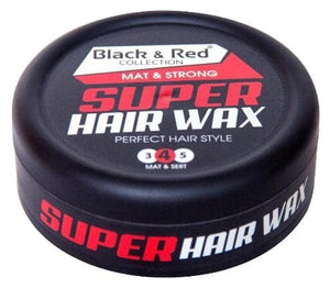 Hairwax - Black & Red Mat and Strong