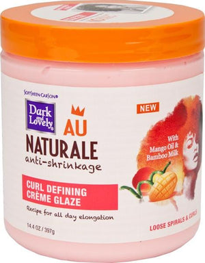 Dark and Lovely Au Natural Curl Defining Creme Glaze 397g
