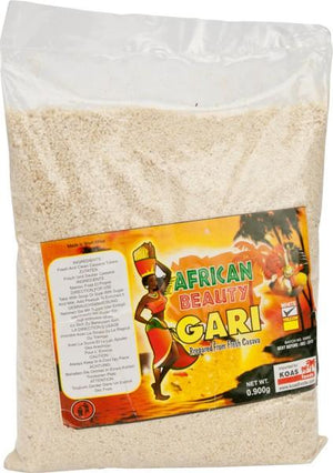 Gari White African Beauty 900 g