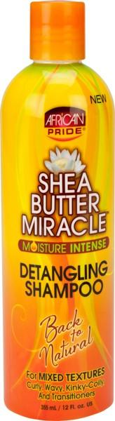 African Pride Shea Butter Miracle Shampoo 12 oz