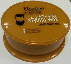 Fixation Professional Hair and Beard Styling Wax Matte Wax 150 ml