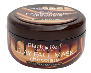 Black and Red Face Mask Chocolate 400 ml