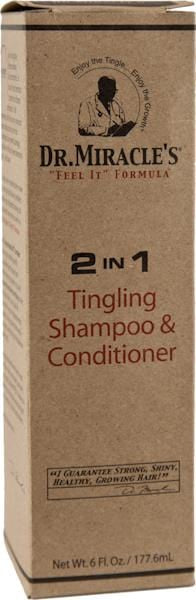 Dr. Miracle 2 in 1 Tingling Shampoo & Conditioner 6 oz