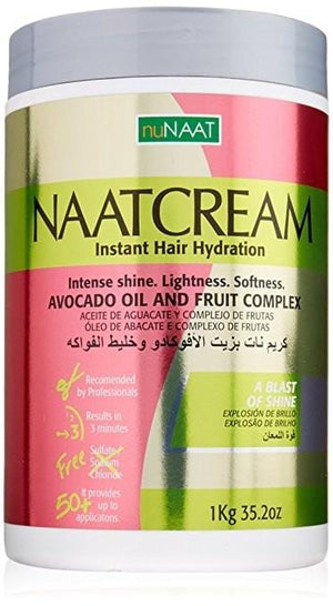 Nunaat Naat Hair Cream Avocado Oil and Fruit Complex 1 kg