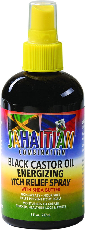 Jahaitian Black Castor Oil Energizing Itch 237 ml