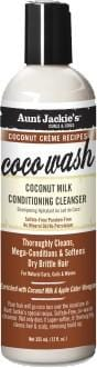 Aunt Jackie's Coconut Creme Recipes Coco Wash Coconut Milk Conditioning Cleanser 355 ml