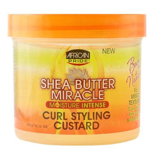 African Pride Shea Butter Miracle Curl Styling Custard 340 g
