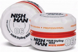 Nish Man Hair Styling Wax Mystic Gummy 150 ml