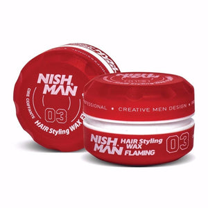 Nish Man Hair Styling Wax Flaming 150 ml