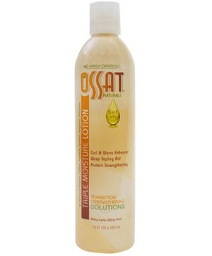 Ossat Natural Triple Moisture Lotion 12 oz