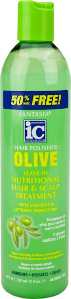 IC Fantasia Olive Nutritional Hair and Scalp Treatment 12 oz