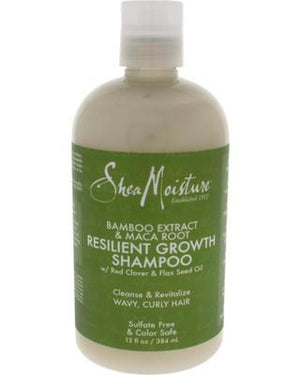 Shea Moisture Bamboo Extract and Maca Root Resilient Growth Shampoo 384 ml