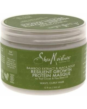 Shea Moisture Bamboo Extract and Maca Root Resilient Protein Masque 355 ml