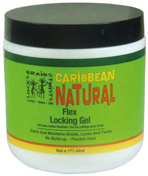Caribbean Natural Flex Locking Gel 177,44 ml