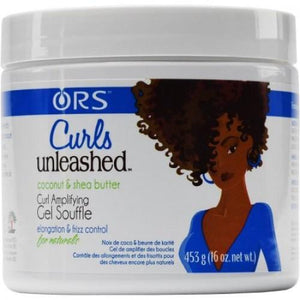 ORS Curls Unleashed Coconut and Shea Buter Gel Soufflé 453 g