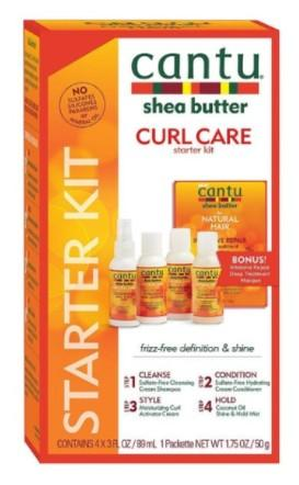 Cantu Shea Butter Curl Care Starter Kit