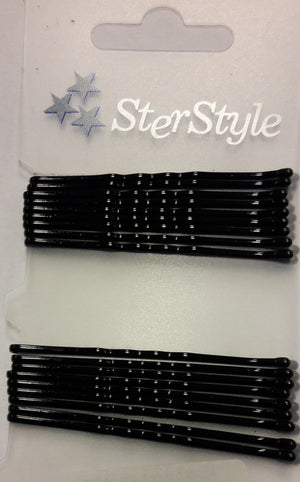 Hairgrip MM59 Black 18 pcs