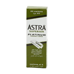 Astra Superior Platinum Doubde Edge 20 cartons of 5 pieces