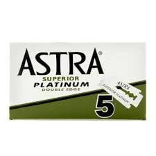 Astra Superior Platinum Double Edge 5 pieces
