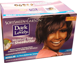 Dark and Lovely Moisture Seal Plus Shea Butter Relaxer Regular
