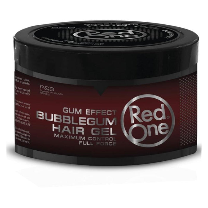 Red one Bubblegum Hair Gel Gum Effect 450 ml