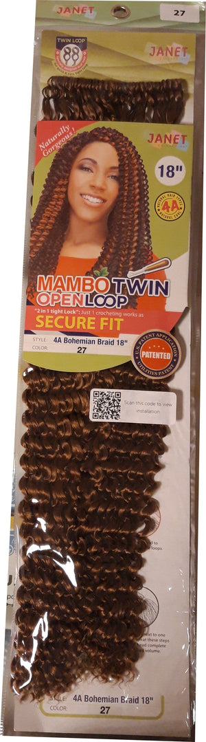 Janet Mambo Twin Openloop Secure Fit nummer 27