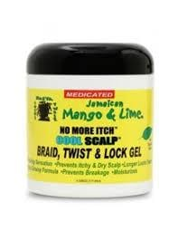 Mango & Lime No More Itch Cool Scalp Braid, Twist and Look Gel 236,57 ml