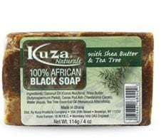 African Black Soap - Kuza Natural African Black Soap 114 g