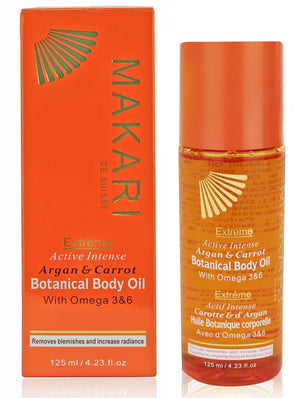Makari Extreme Argan and Carrot Botanical Body Oil 125 ml