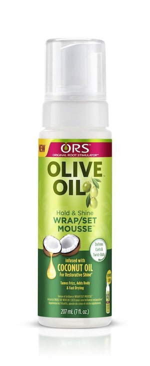 ORS Olive Oil Coconut Oil Wrap Mousse 207 ml