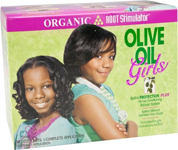 Organic Root Relaxer Kit Girls