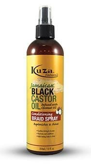 Kuza Jamaican Black Castor Oil Conditioning Braid Spray 354 ml