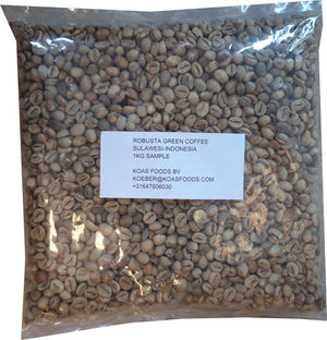 Robusta Green Coffee Indonesie 1kg