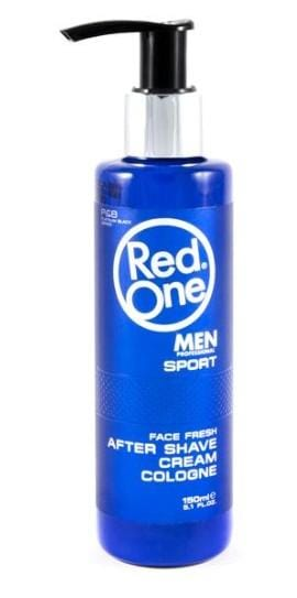 RED ONE MEN SPORT AFTERSHAVE CREAM COLOGNE 150 ML