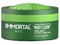 Immortal NYC Matte Look Hair Wax 150 ml