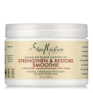 Shea Moisture Jamaican Black Castor Oil Strengthen and Restore Smoothie 340 g