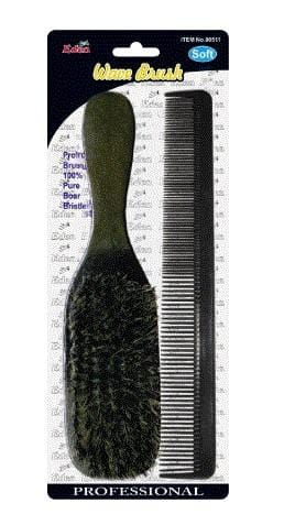 EDEN SOFT WAVE BRUSH & COMB 00511