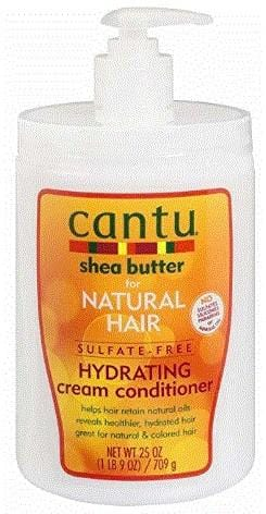 Cantu Sulfate Free Hydrating Cream Conditioner Salon Sie 709 g