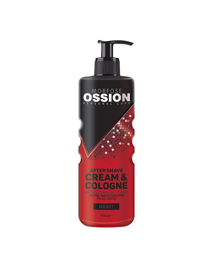 OSSION AFTER SHAVE CREAM & COLOGNE NIGHT 400 ML