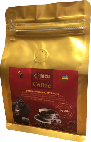 Kabizu Coffee Dark Expresso Roast Beans 250 g