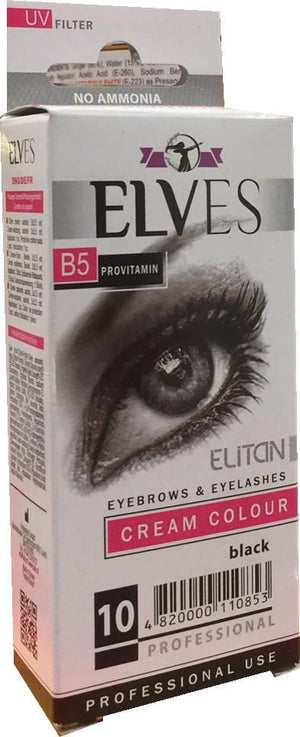 Elves B5 Provitamin Eyesbrows Cream Colour Black