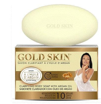 Gold Skin Clarifying Argan Body Soap 10 Days 180g