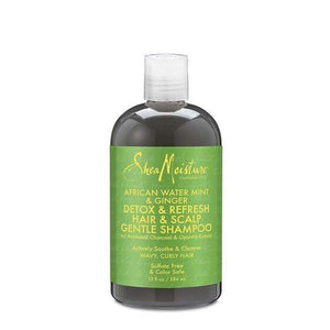 AFRICAN WATER MINT & GINGER DETOX HAIR & SCALP GENTLE SHAMPOO 384 ML