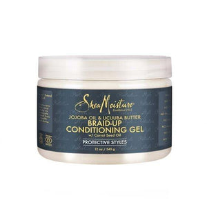 SHEA MOISTURE JOJOBA OIL & UCUUBA BUTTER BRAID-UP CONDITIONING GEL 340 G