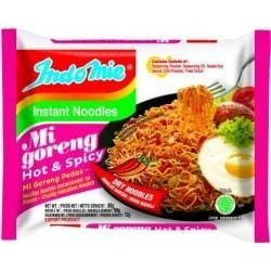 INDOMIE INSTANT NOODLES MI GORENG HOT AND SPICY 70G X40