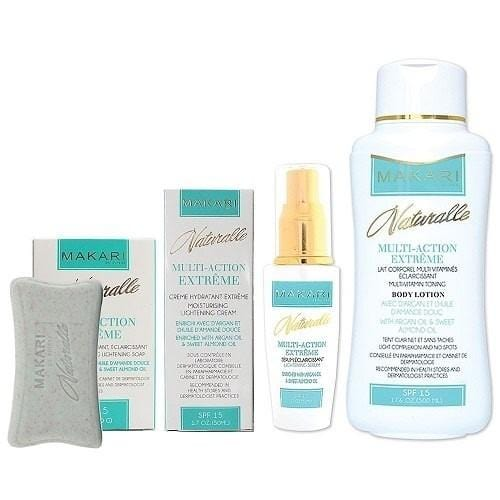 Makari Naturalle Multi Action Extreme Lightening Beauty Set 4 pieces